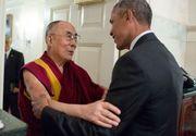 "Barack Obama l-a primit la Casa Alba pe Dalai Lama: a fost o intalnire ""personala"". Despre ce au discutat"