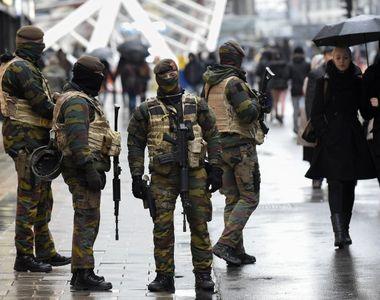Belgia mentine nivelul de alerta 3 dupa arestarea a 12 persoane care ar fi planuit un...