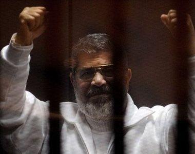 Fostul presedinte egiptean Mohamed Mursi a fost condamnat pe viata intr-un caz de spionaj