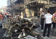 Cel putin 70 de persoane au murit si alte sute au fost ranite in doua atacuri cu bomba la Bagdad. ISIS a revendicat una din explozii