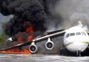 Cel putin 5 oameni au murit, dupa ce un avion s-a prabusit in Turcia
