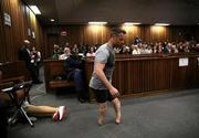 Atletul paralimpic Oscar Pistorius a fost condamnat la sase ani de inchisoare pentru uciderea iubitei sale