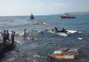 Aproximativ 217 cadavre au fost recuperate de pe epava unei ambarcatiuni scufundate in Marea Mediterana