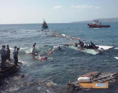 Aproximativ 217 cadavre au fost recuperate de pe epava unei ambarcatiuni scufundate in...