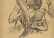 Un desen semnat Edgar Degas, furat de nazisti in timpul celui de-al Doilea Razboi Mondial, a fost vandut cu peste 460.000 de euro