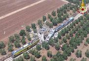 Accident feroviar in sudul Italiei. Bilantul victimelor a ajuns la 27 de morti si 50 de raniti