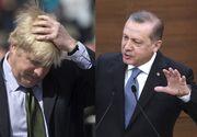 """""""Fie ca Domnul sa-l intoarca pe calea cea buna"""" a spus premierul turc despre Boris Johnson"""