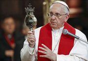 """Mesajul Papei Francisc dupa atentatul de la Nisa: """"Sunt alaturi de intreaga natiune franceza!"""""""