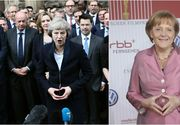 Apartin Angela Merkel si prim-ministrul britanic Theresa May sectei Illuminati? Gesturile mainilor le-a dat de gol, sustin specialistii in semnele masonice