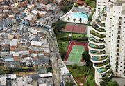 Bogatii si saracii, separati de un zid de beton. Se intampla in Brazilia, tara care gazduieste Jocurile Olimpice 2016