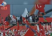 Zi istorica pentru Turcia! Milioane de oameni si lideri politici s-au adunat la Istanbul pentru a sarbatori democratia. Imaginile de la eveniment sunt impresionante