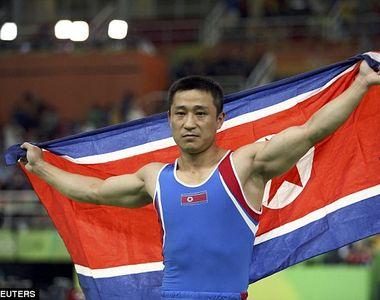 """Cel mai trist medaliat cu aur la JO este un nord-coreean. """"Sunt foarte bucuros ca..."""