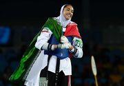 Rio 2016: Imbracata in tinuta islamica, o iranianca a reusit sa castige prima medalie obtinuta de o femeie din tara ei