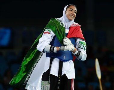 Rio 2016: Imbracata in tinuta islamica, o iranianca a reusit sa castige prima medalie...