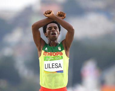 Rio 2016: Medaliatul cu argint la maraton risca sa fie ucis la intoarcerea in tara....