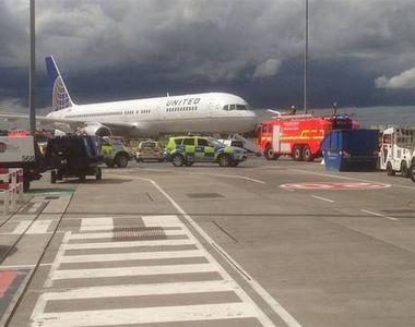 Aterizare de urgenta in Irlanda. 16 persoane care se aflau la bordul aeronavei United...