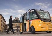 Lyon, primul oras din lume cu autobuze fara sofer. Autovehiculele circula cu 10Km/h