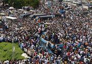 """150 de milioane de muncitori indieni protesteaza impotriva Guvernului. """"Greva ne va aduce ceea ce vrem. Va fi cea mai mare grevă din istoria lumii"""""""