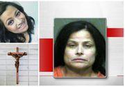 """O femeie din SUA si-a ucis fiica pentru ca era """"posedata"""". Pe pieptul cadavrului, asezat sub forma crucii, a fost pus un crucifix"""