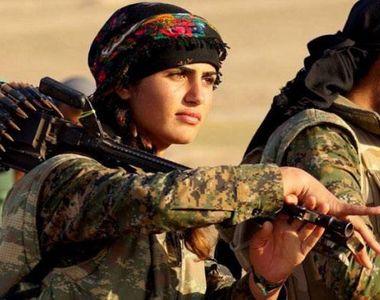 """Angelina Jolie a Kurdistanului a murit """"ca un martir luptand impotriva Statului..."""