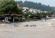 Dezastru in Grecia. Inundatii si incendii de vegetatie. Autoritatile au decretat stare de urgenta