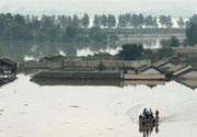 Inundatii puternice in Coreea de Nord: 133 de persoane si-au pierdut viata, iar alte 395 au disparut. Peste 35.500 de locuinte sunt afectate