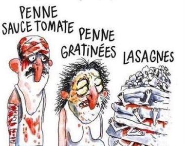 Revista Charlie Hebdo, data in judecata de Consiliul local din Amatrice. Francezii au...