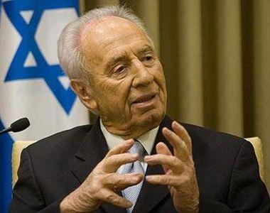 Fostul preşedinte israelian Shimon Peres, in varsta de 93 de ani, spitalizat în urma...