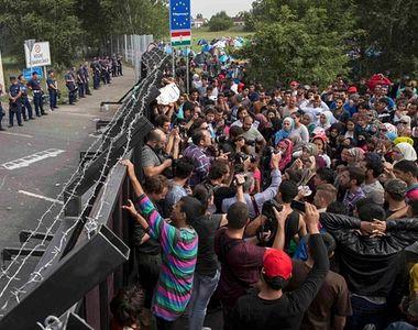 """""""Ungaria nu este departe de a ordona deschiderea focului asupra refugiatilor""""..."""