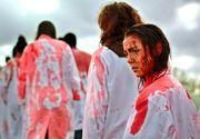 """Mai multi spectatori au lesinat la Festivalul de Film de la Toronto. Scenele de canibalism din """"Grave Raw"""" au fost prea mult pentru unii dintre spectatori, care au avut nevoie de ajutorul medicilor"""