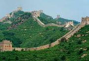 O portiune din Marele Zid Chinezesc a fost reparata cu nisip si ciment. Fotografiile realizate de turisti au atras mii de critici pe retelele de socializare