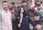 """Ea este cea mai cautata persoana de catre teroristii ISIS din Irak dupa ce le-a omorat din soldati: """"I-am decapitat, le-am gatit capetele si le-am dat foc corpurilor"""""""