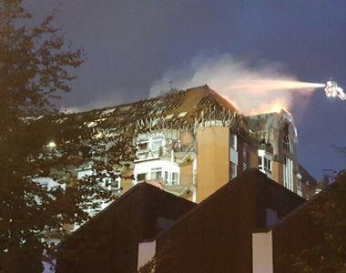 Incendiu violent la un spital din vestul Germaniei. Cel putin doua persoane au murit si...