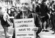 """Imaginile care au facut inconjurul lumii. Zeci de mii de femei au protestat in Polonia fata de interzicerea avortului: """"Ne aflam in Evul Mediu"""""""