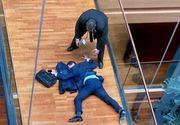 Bataie la Parlamentul European! Eurodeputatul britanic Steven Woolfe a ajuns in spital dupa o altercatie cu un coleg. Ce mesaj a postat acesta pe Twitter de pe patul de spital