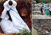 Uraganul Matthew a ucis 1.000 de oameni in Haiti. Mortii au fost ingropati in gropi comune