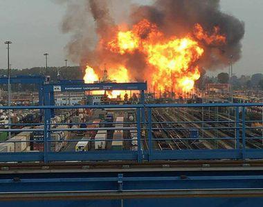 Explozie la o fabrica de produse chimice din Germania. Mai multe persoane au fist...