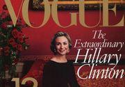 Revista Vogue o sustine pe Hillary Clinton la alegerile prezidentiale din SUA