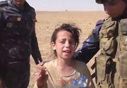 """Momentul emotionant in care o fetita de 10 ani este salvata de soldatii irkaieni: """"Credeam ca nu mai ajungeti"""". Luptatorii au fost impresionati pana la lacrimi de povestea ei"""