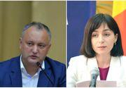 Presedintele Republicii Moldova va fi ales peste doua saptamani. Socialistul Igor Dodon si pro-europeana Maia Sandu intra in al doilea tur de scrutin