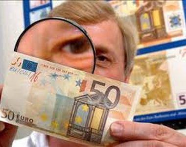 Treisprezece milioane de euro falsi, recuperati de politie dintr-un baraj....