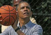 In ziua alegerilor prezidentiale din SUA, Barack Obama s-a dus sa joace baschet