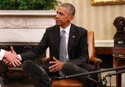 """Barack Obama afirma ca a avut o """"conversatie excelenta"""" cu Donald Trump, dupa ce l-a primit, timp de 90 de minute, in Biroul Oval"""