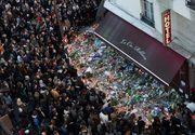 Un an de la atacurile sangeroase de la Paris. Francezii au aprins zeci de lumanari in memoria victimelor. Sting a concertat in sala Bataclan