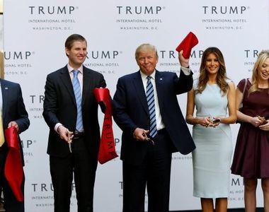 Copiii lui Trump vor acces la informatii strict secrete