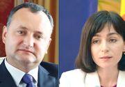 Tensiuni in Republica Moldova dupa alegeri. Maia Sandu indeamna populatia sa semneze o petitie pentru a declara nule alegerile prezidentiale. Igor Dodon ameninta cu contramanifestatii