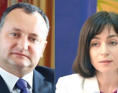 Tensiuni in Republica Moldova dupa alegeri. Maia Sandu indeamna populatia sa semneze o...