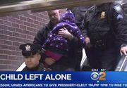 """O fetita de 5 ani a fost abandonata de tata in autogara: """"Mi-a spus sa stau aici"""". Dar barbatul nu s-a mai intors dupa ea. Descoperirea macabra facuta de politisti"""