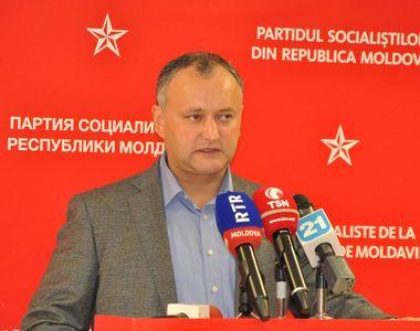 """Noul presedinte al Moldovei: """"Eu consider că Moldova in niciun caz nu trebuie să..."""