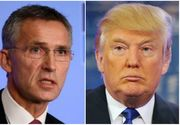 Prima discutie dintre Donald Trump si seful NATO, Jens Stoltenberg. Cei doi vor suplimentarea bugetelor alocate apararii de statele NATO